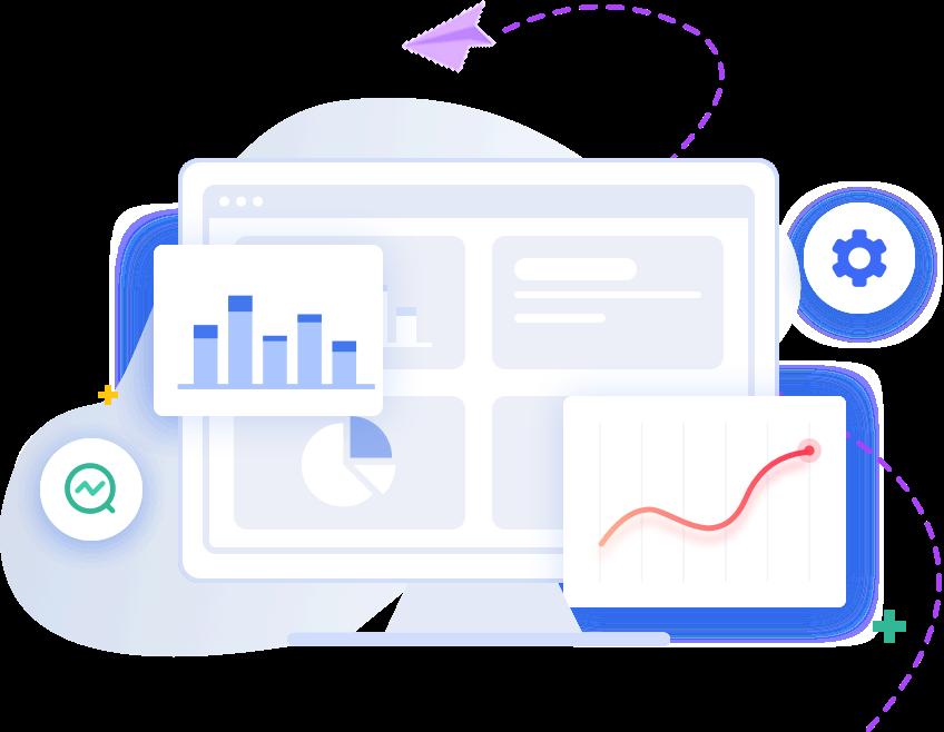 询盘数据和网站流量统计